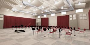 akustik perde ve tavan