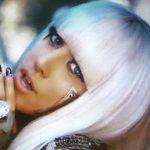 Lady GaGa baskılı Stor