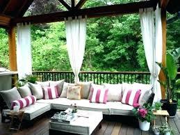 Balkon veranda çardak perdesi